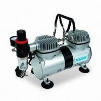 China Airbrush Compressor with 1,450/1,700rpm Speed and 0 to 4bar Working Pressure wholesale