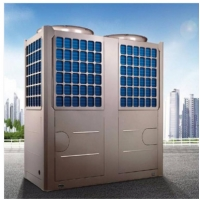 China Air Cooled Water Chiller Residential Air Source Heat Pump DHW 19KW wholesale