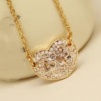 China Fashion Jewelry Buy from China Alibaba Supplier Imitation Diamond Necklace for Women 2015 Long Chain  Pendant Necklace on sale