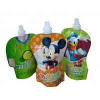 China PET / PA / PE Stand UP Pouch / spout pouch self stand up for jelly packaging with high puncture resistance wholesale