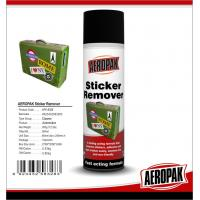 China Safe Industrial Cleaning Products , Car Window / Paste Sticker Remover Spray wholesale