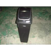 China 90Liter Square Plastic trash cans wholesale