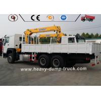 Buy cheap SINOTRUCK 10 Wheeler HOWO Hydraulic Mobile Crane 6x4 16 Ton Telescoping Boom from wholesalers