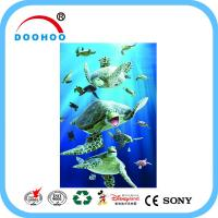 Quality Heidelberg Machine 3d lenticular poster printing Advertising Customized for Wall for sale