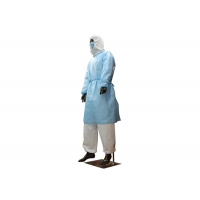 China Knitted Cuff Long Sleeve 60gsm Disposable Protective Coverall wholesale