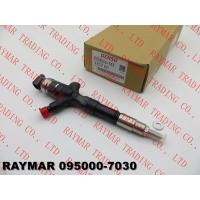 China DENSO Genuine common rail injector 095000-7030, 095000-7031 for TOYOTA 23670-39185, 23670-39186, 23670-30140 wholesale