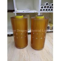 China PVC Cling Film with holes for mushroom Packing (Size 16microns x 380mm x 1524m) wholesale