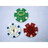China Dice Poker Chips on sale