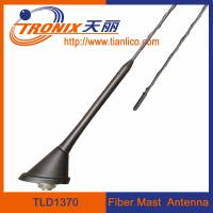 China roof or rear deck mount fiber mast car antenna/ passive car am fm radio antenna TLD1370 wholesale
