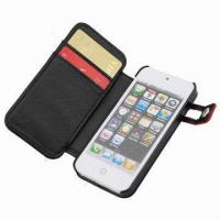 China Case for iPhone 5, with Card Holder, Keep in Stock, MOQ is 100pcs wholesale