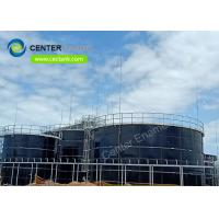 China Eco - Friendly Stainless Steel Bolted Tanks / Frac Sand Storage Tanks on sale