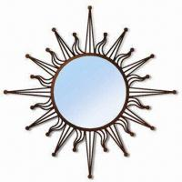 China Metal Framed Sunrise Mirror with BSCI Audit Report, Various Sizes and Colors are Available wholesale