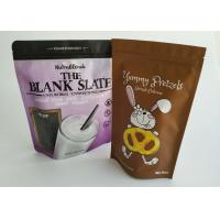 China Custom Stand Up Pouch Delicious Cookie Packaging Sealable Plastic Bag Gravure Printing wholesale