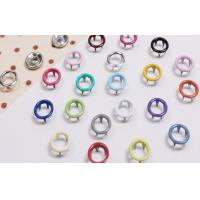 China Colorful Brass Iron Alloy Custom Snap Buttons For Men's Or Women's Shirts on sale