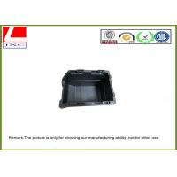 China Black plastic injection box wholesale