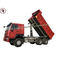 China 31-40 T 371hp Sinotruk Howo Truck , Construction 6X4 Heavy Duty Tipper Trucks on sale