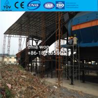 Quality MSW municipal waste sorting line equipment for household waste management for sale