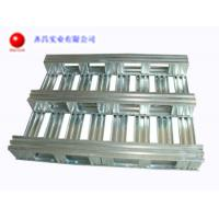 Buy cheap 2 Way Metal Pallets For Warehouse And Transportation Extile Foods And Logistics from wholesalers
