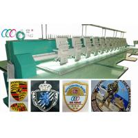China Leather Clothing / bag / Shoe Computerized Embroidery Machine 12 Head wholesale
