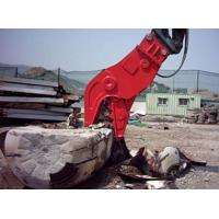 China Concrete Cat Excavator Attachments No Vibration Jaws Movable Clampes Fixed wholesale
