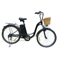 China Large 26'' City 36v e bike ,  Lead-acid Battery Powered Bicycle For Adults wholesale