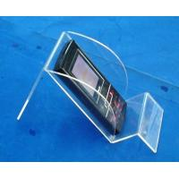 China Tablet PC Clear Cast Acrylic Plastic Display Holders For Ipad wholesale