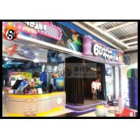 China Professional 6D Local Movie Theaters with 3D Glasses , Hydraulic Platform wholesale