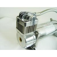 China Heavy Duty 12V Or 24v Air Ride Suspension Compressor For Airbags 150psi Load Support wholesale
