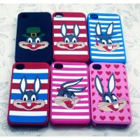 China Durable / Flexible Cartoon Custom iPhone 4 Silicon Cell Phone Covers wholesale
