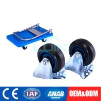 Buy cheap 1 tire portable flatted platform hand trolley & Utility Service Cart from wholesalers