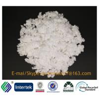 China 2.5D/25MM siliconized raw white 100%polyester A Grade hollow conjugated staple fiber for stuffing on sale