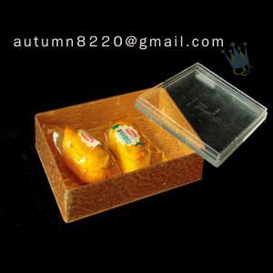 China BO (45) golden acrylic cosmetic case wholesale