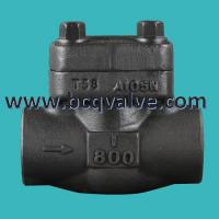 China Forged Stainless Steel Flange Butt Welded LIFT Check Valve pn16 on sale