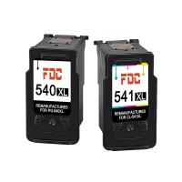 China Canon Remanufactured Ink Cartridges , PG - 540 Ink Cartridges Pixma MG4250 Refill wholesale