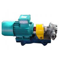 China Rotary Gear Oil Pump , Lube Oil Gear PumpHigh Volume  Without Solid Particles wholesale