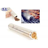 China Smokincube Wood Pellet Smoker Tube Perforated Stainless Steel For Barbecue on sale