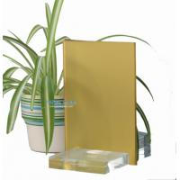 China Yellow Frosted Glass wholesale