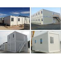 China Durable Big Shipping Container Homes , Factory Already Made Modern Container House on sale
