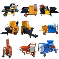 Buy cheap High Performance Mortar Spraying Machine 3 Phase For Wall 4.4kw Motor Power from wholesalers