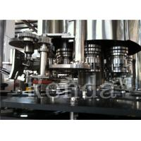 China Aluminum Can / PET Can Filling Machine High Speed 1.67KW 1 Year Warranty on sale