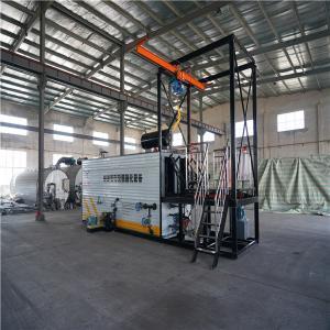 China White Bitumen Decanting Machine Carbon Steel Material 9.1 × 2.2 × 2.55m Size wholesale