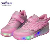 Quality High quality fabrics kids led light up skate roller shoes for sale