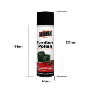China Household Care Anti Static 500ml Furniture Polish Spray wholesale