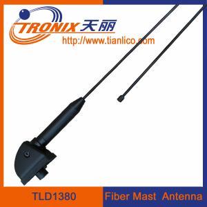 China 1 section black fiber mast car antenna/ am fm radio car antenna TLD1380 wholesale