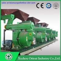 China CE ISO SGS Certificate TN-Patent High Capacity Biomass Ring Die Wood Pellet Machine wholesale