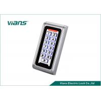 China Waterproof Standalone Access Control Keypad With Light 5-15CM Reading RFID EM Card wholesale