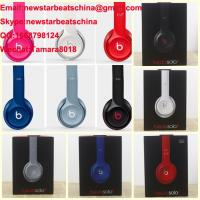 China HOT!!!New black/white/red/blue/pink/gary beats solo 2 v2 headphone by dr dre wholesale