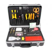 China Deluxe Fiber Optic Splicing Tool Kit KF - 6500 , Fiber Optic Installation Tools wholesale