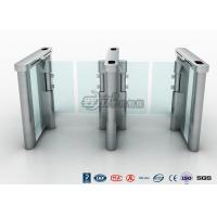 Quality Access Control Speed Gate Turnstile , DC Servo Motor Pedestrian Barrier Gate for sale