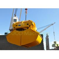 China 15 CBM Radio Remote Control Grab , Yellow Color Remote Control Ship Grab wholesale